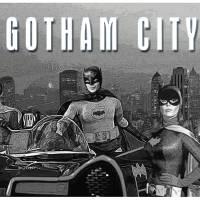 Gothan City BW Art Prints & Posters by David Caldevilla