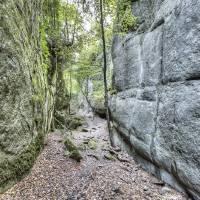 Walking Between Rock Walls (Catalonia) Art Prints & Posters by Marc Garrido