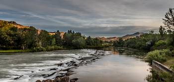 Spring View Of The Payette River