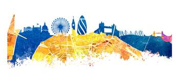 London map skyline