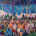 """Gay Pride Festival Dance San Diego"" by BeaconArtWorksCorporation"