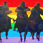 """Rainbow Riders by RD Riccoboni"" by BeaconArtWorksCorporation"