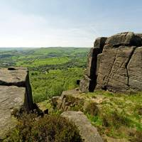 The Derwent Valley From Curbar Edge Art Prints & Posters by Rod Johnson