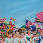 """LGBT March on Washington DC"" by BeaconArtWorksCorporation"