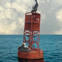 Buoy 22 Art Prints & Posters by I.M. Spadecaller