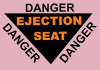 Ejection Seat Poster