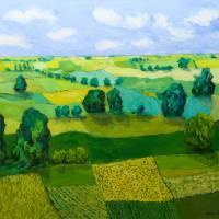 Minnesota Fields Art Prints & Posters by Allan P Friedlander