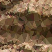 Copper Brown Abstract Low Polygon Background
