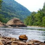 """""""Mountain River with Rock Shoreline"""" by globetrotter1"""