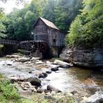 """Waterwheel bridge and stream"" by globetrotter1"
