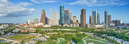 Houston Skyline Panorama