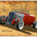 """1933 Ford Hot Rod"" by minnron37"