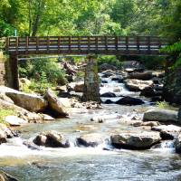Bridge and Stream Art Prints & Posters by Lawrence Johnson