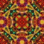 """Coral Fireworks Mandala"" by richardhjones"