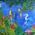 """""""HAPPY RAIN FOREST II"""" by ROFFEART"""
