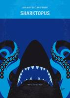 No485 My Sharktopus minimal movie poster