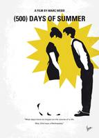No500 My 500 Days Of Summer minimal movie poster