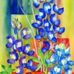 """Lupinus Texensis"" by HaileyWatermedia"