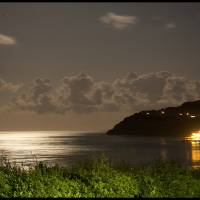 Moonlit Shanklin Bay Art Prints & Posters by Matt Blythe