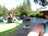 Kayaking with Friends