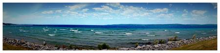 Panoramic View from Bay Front Park (Petoskey, MI)