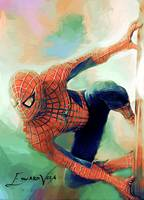 Spiderman #2 Art Piece by Edward Vela