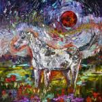 """Appaloosa Spirit Crimson Moon Pony"" by GinetteCallaway"
