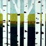 """Birches on the Beach"" by Michelle1991"