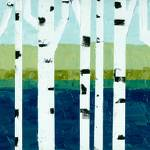 """Beach Birches Pano"" by Michelle1991"