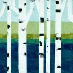 """Beach Birches Pano"" by Michelle1991"