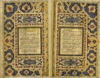 A large illuminated Qu'ran, Persia, Qajar, 19th ce
