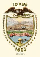 Idaho State Arms of the Union (1876)