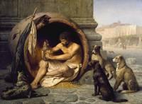 Jean-Leon Gerome, Diogenes of Sinope
