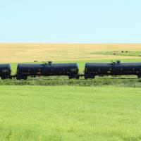 Rail Car on the Prairies Art Prints & Posters by Robert Hamm