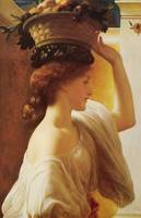 Lord Frederic Leighton (English, 1830-96), Euchari