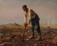 Man With A Hoe , Jean Francois Millet