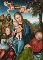 Lucas Cranach the Elder, workshop, The Mystic Marr