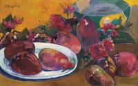 Paul Gauguin 1848 - 1903 NATURE MORTE AUX MANGOS