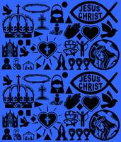 CHRISTIANITY (BLUE)