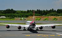 Virgin A-340-600, G-VSSH, Historical In Narita
