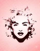 Madonna - Head shot - Pop Art