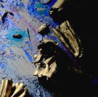 Super Macro Oil Pastel Abstract #3807, Edit C
