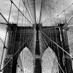 """Brooklyn Bridge Monochrome"" by JessicaJenney"