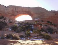 Morning at Wilson's Arch