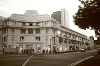 Capitol Building Singapore , Black and White Photo