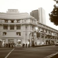 """Capitol Building Singapore  Black and White Photo"" by Stamford Photography And Design"