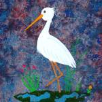 """""""Egret at the Lake"""" by LimeCreekArt"""
