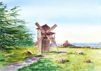 Fort Ross Windmill