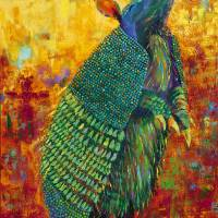 Armadillo Army Art Prints & Posters by Becky Hicks