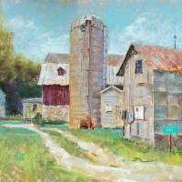 Pontzloff's Barn Art Prints & Posters by Brenda Boylan